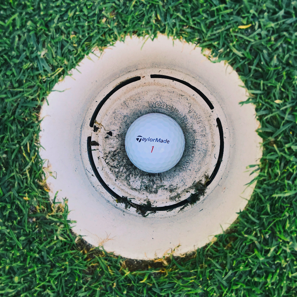 sink your next putt that much more easily with a little help low tech product